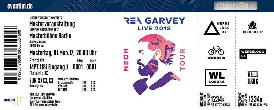 Rea Garvey Karten für ihre Events 2018