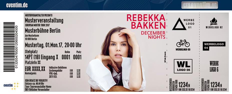 Karten für Rebekka Bakken in Halle / Saale