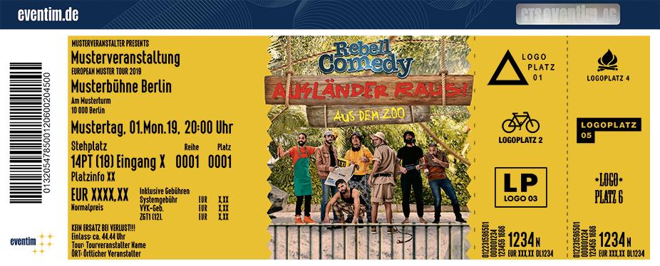 RebellComedy - Ausländer Raus! Aus dem Zoo