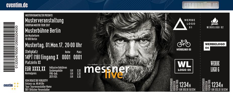 Reinhold Messner Karten für ihre Events 2017