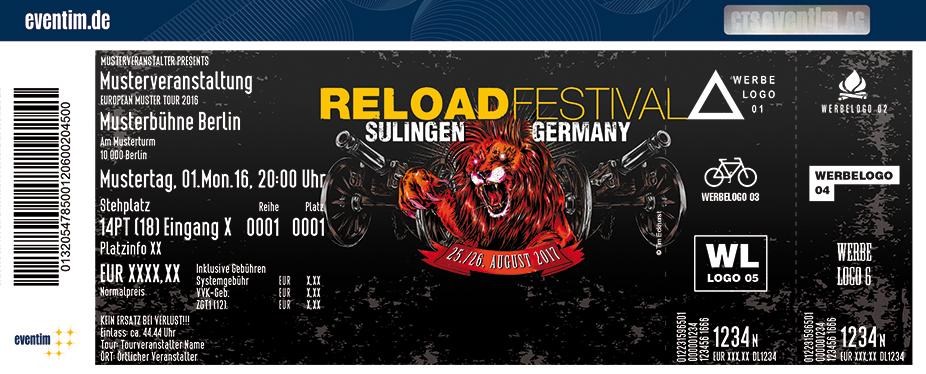 Karten für Reload Festival 2017 in Sulingen