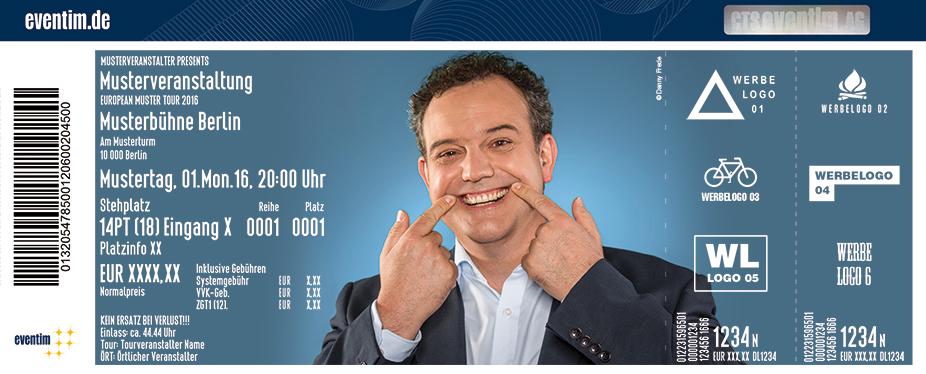 Karten für René Steinberg: Irres ist menschlich in Leverkusen