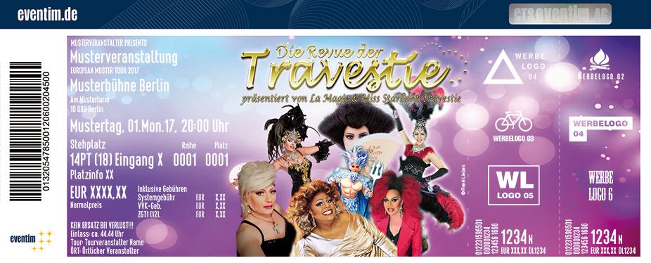 Karten für Die Revue der Travestie - Präsentiert von La Magie & Miss Starlight Travestie in Bad Harzburg
