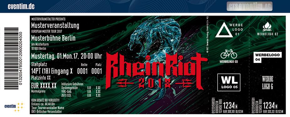 Rhein Riot Karten für ihre Events 2018