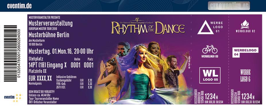 Rhythm Of The Dance Karten für ihre Events 2017