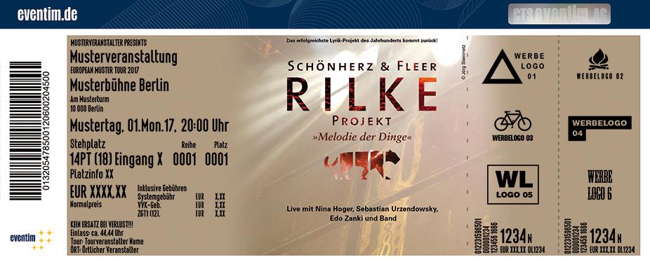Karten für Schönherz & Fleer: Das Rilke Projekt - Melodie der Dinge in Frankfurt / Main