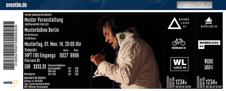 Rio - The Voice Of Elvis Karten für ihre Events 2017
