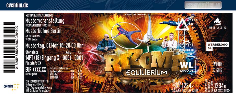 Karten für Rizoma Equilibrium in Cottbus