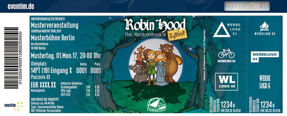 Karten für Robin Hood Junior - Das Familienmusical vom Theater Lichtermeer in Husum