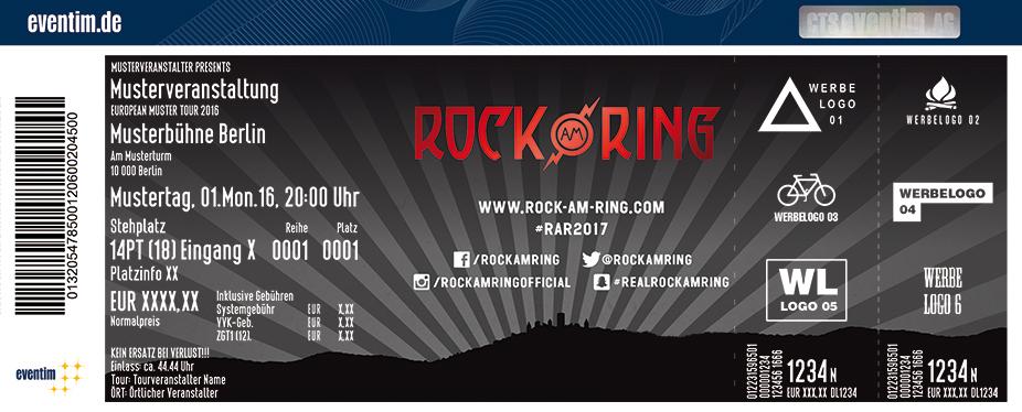 Rock Am Ring Karten für ihre Events 2017