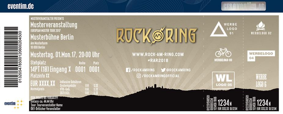Rock Am Ring Karten für ihre Events 2018