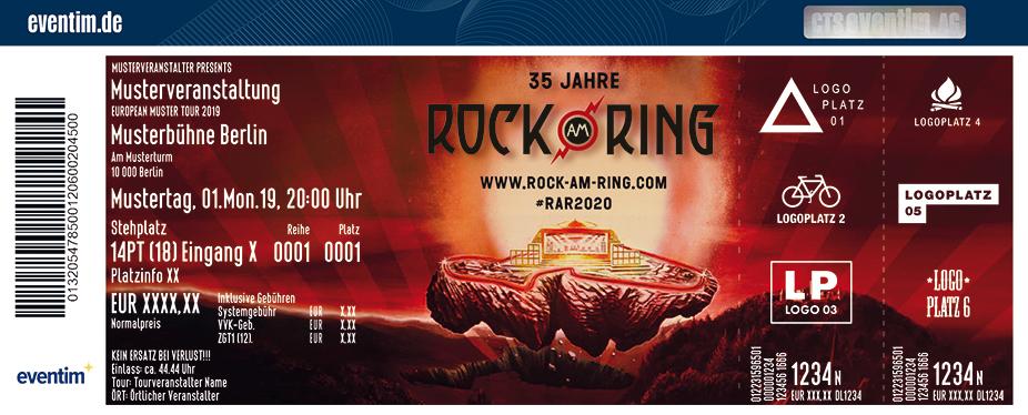 Rock Am Ring 5 7 Juni 2020