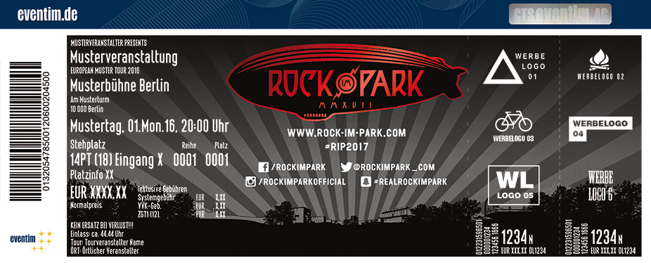 Rock Im Park Karten für ihre Events 2017