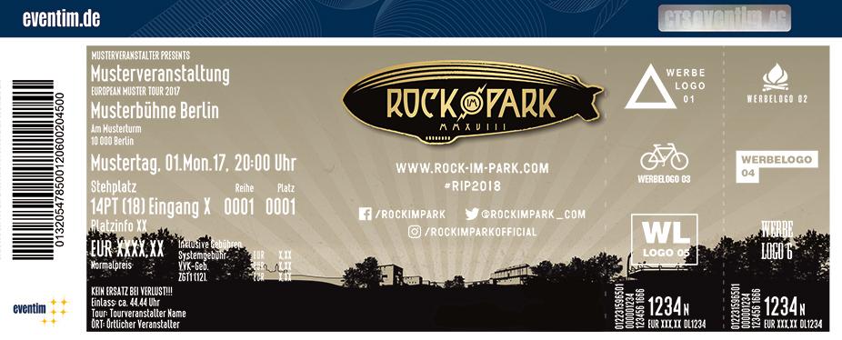 Karten für Rock im Park 2018 | 1.– 3. Juni 2018 in Nürnberg