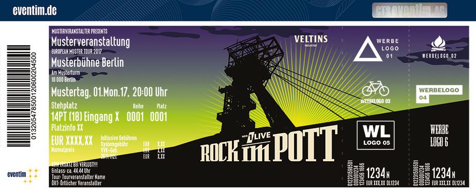 Rock Im Pott Karten für ihre Events 2017