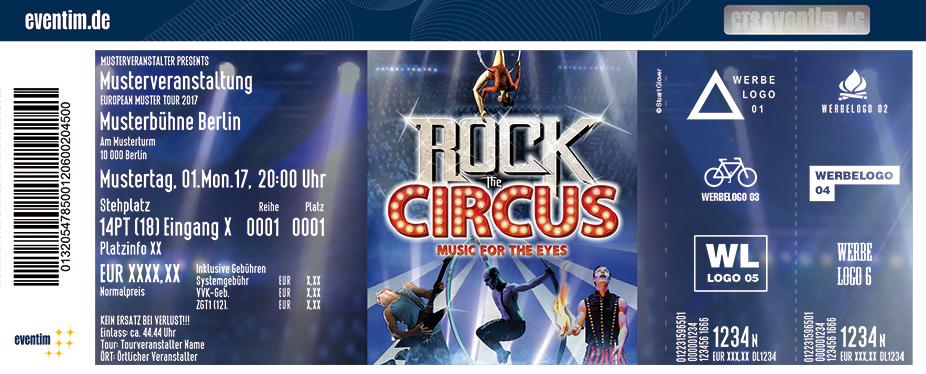 Karten für Rock The Circus - Musik für die Augen in Neubrandenburg