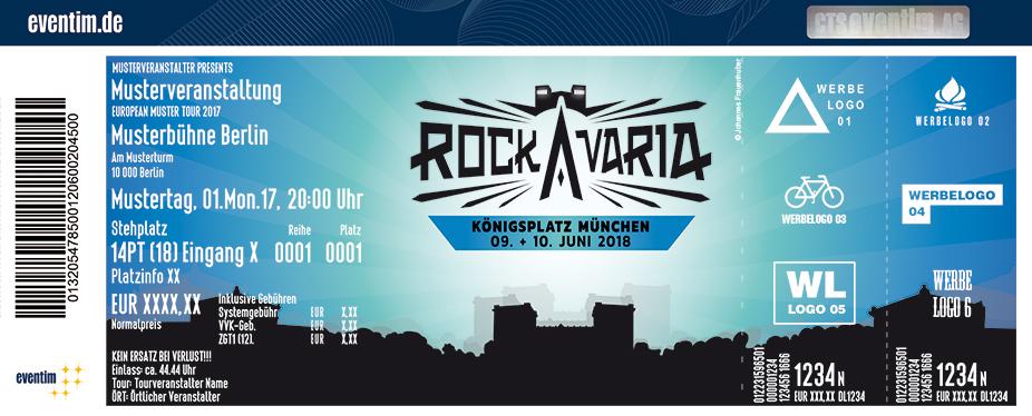 Rockavaria Karten für ihre Events 2018