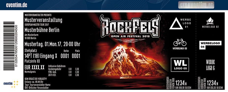 Karten für RockFels | 21. - 23. Juni 2018 in St. Goarshausen / Loreley