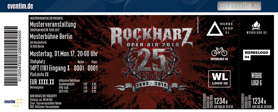 Rockharz Karten für ihre Events 2018