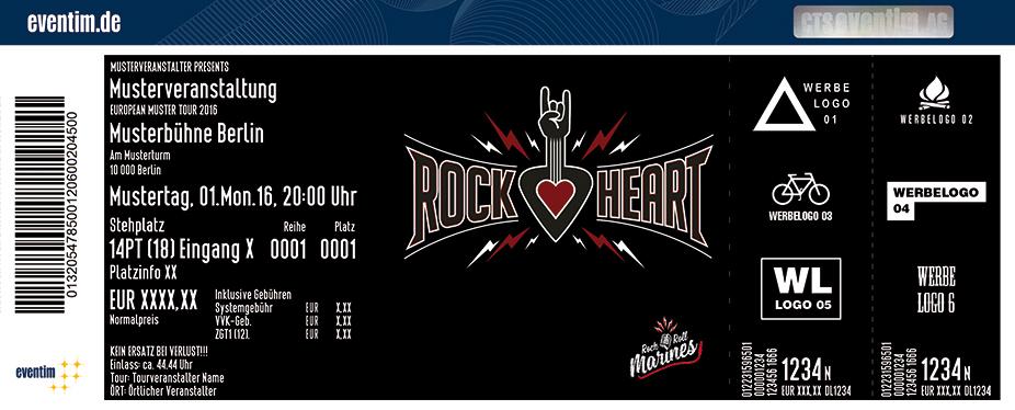 Rockheart Festival Karten für ihre Events 2017