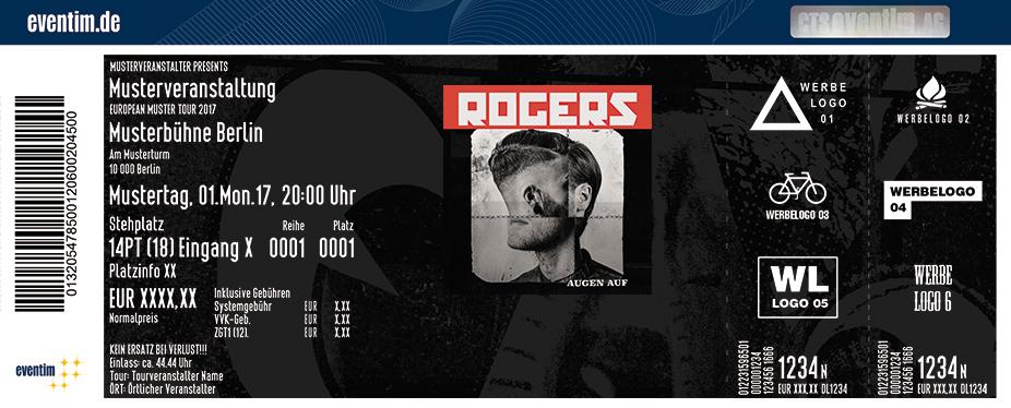 Karten für Rogers: Einen Scheiss muss ich Tour 2018 in Wiesbaden