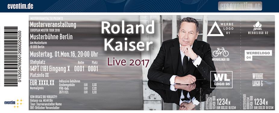 Karten für Roland Kaiser: Roland Kaiser – Auf den Kopf gestellt – Die Tournee zum aktuellen Album! in München