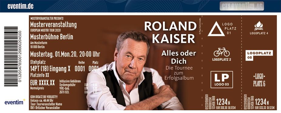 Roland Kaiser - Alles oder Dich - Die Tournee zum Erfolgsalbum