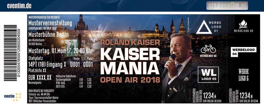 Karten für Roland Kaiser - Live 2018 in Dresden