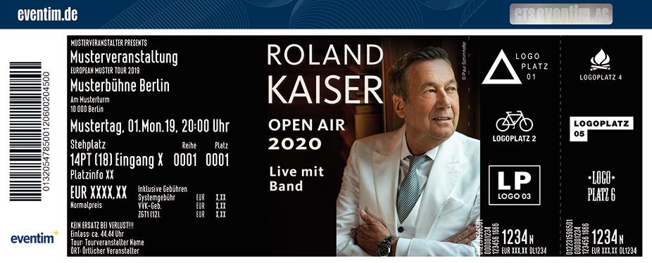 Roland Kaiser - Open Air 2020