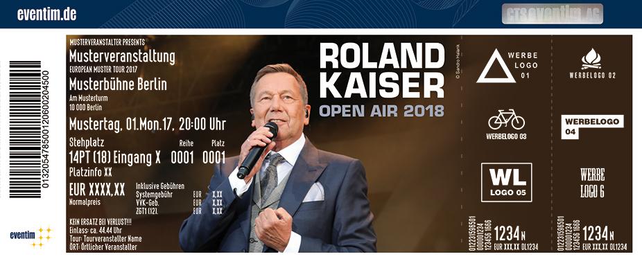 Roland Kaiser Karten für ihre Events 2018
