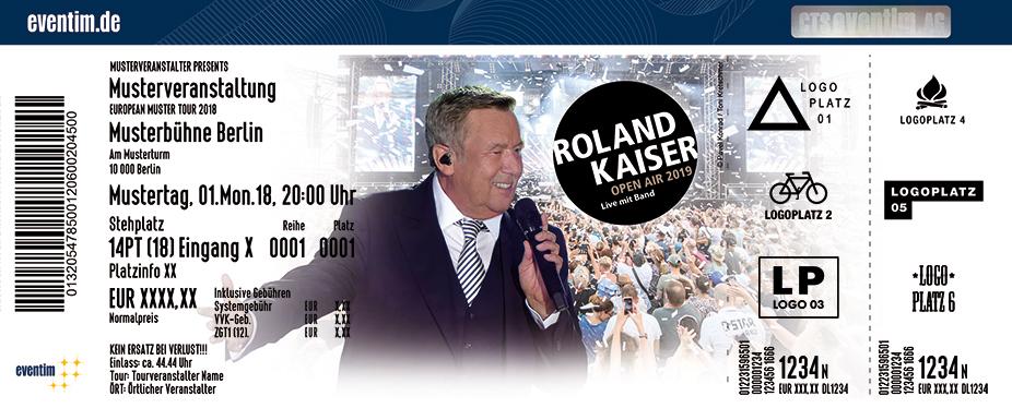 Roland Kaiser - Open Air 2019