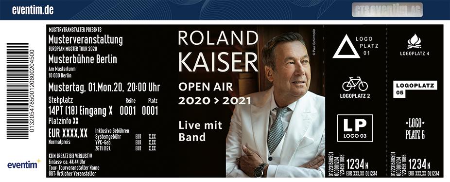 Roland Kaiser - Open Air 2020/ 2021 - Live mit Band