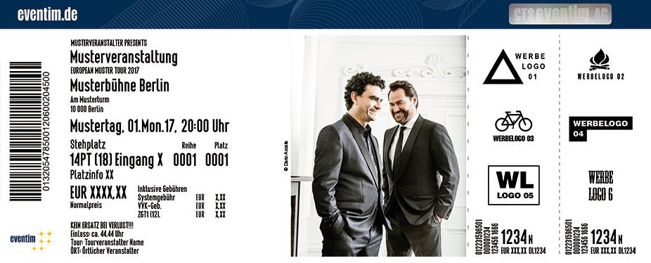 Karten für Rolando Villazón & Ildar Abdrazakov in Stuttgart