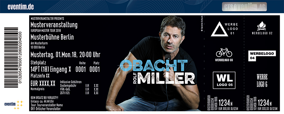 Karten für Rolf Miller: Obacht! in Landsberg