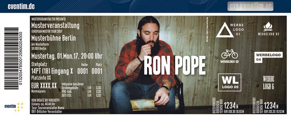 Karten für Ron Pope in Hamburg