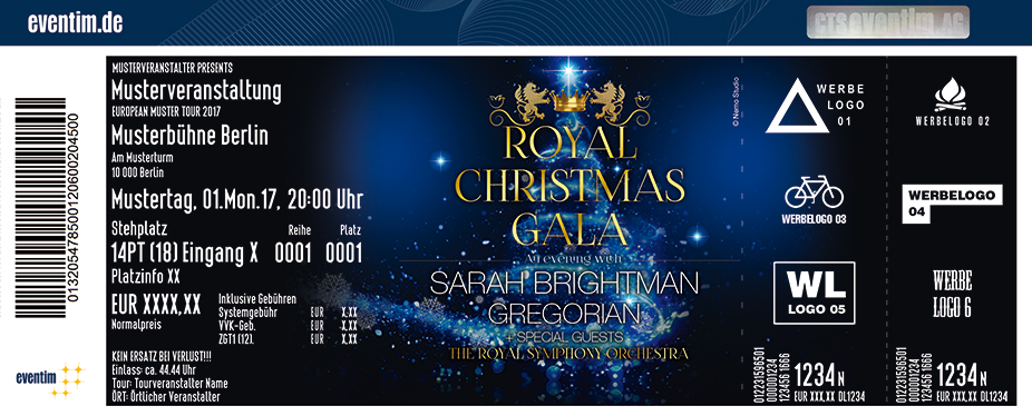 Karten für Royal Christmas Gala in Berlin