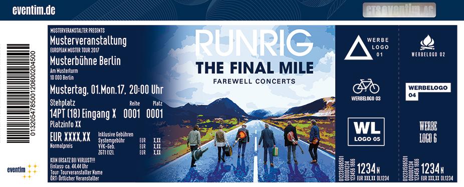 Karten für Runrig: The Final Mile - Tour 2018 in Köln