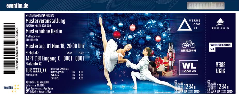 Karten für Russisches Klassisches Staatsballett - Der Nussknacker in Würzburg