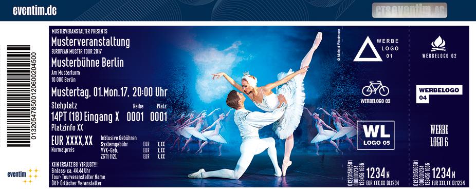Karten für Schwanensee - Russisches Klassisches Staatsballett unter der Leitung von Konstantin Iwanow in Saarbrücken