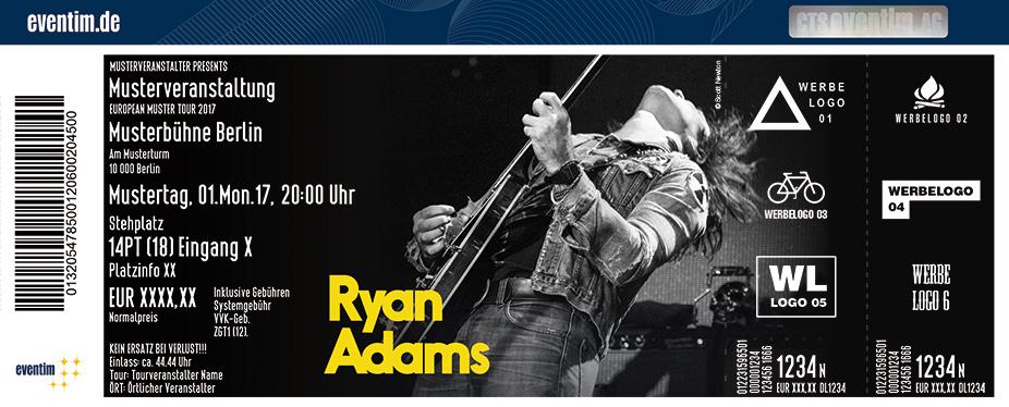 Ryan Adams Karten für ihre Events 2017