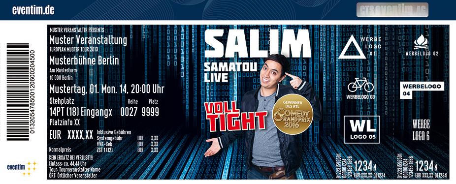 Karten für Salim Samatou: Voll Tight in Bremen