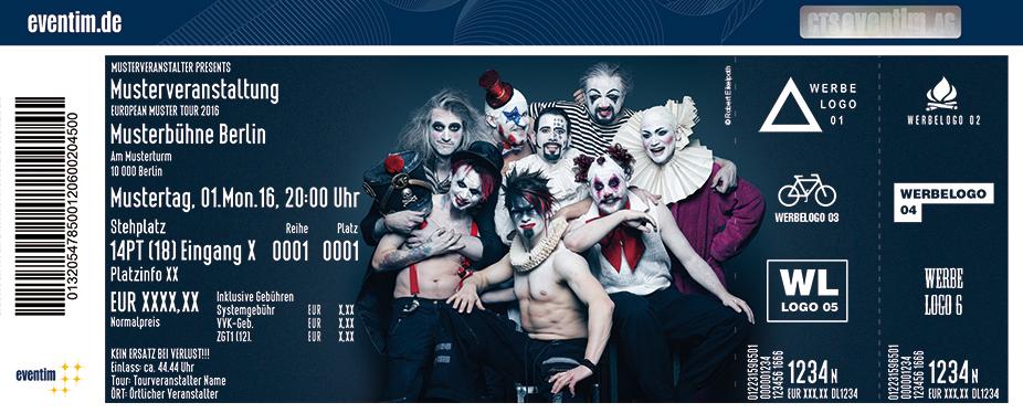 Saltatio Mortis Karten für ihre Events 2017