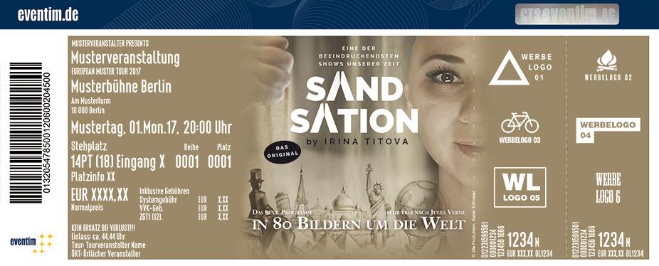 Karten für Sandsation - In 80 Bildern um die Welt in Bad Hersfeld