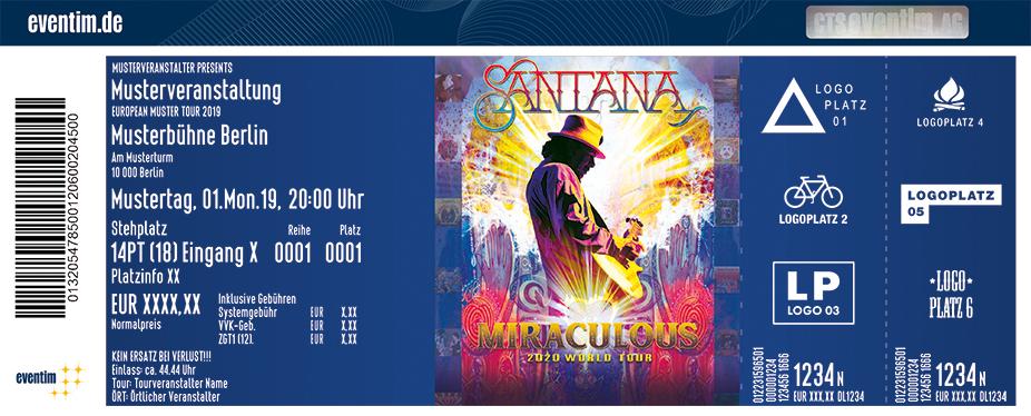 Santana - Miraculous World Tour 2020