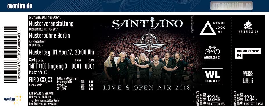 Karten für Santiano - Live & Open Air 2018 in Ralswiek - Rügen