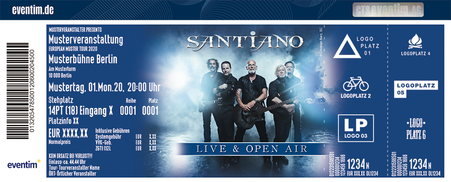 Santiano - Open Air 2021
