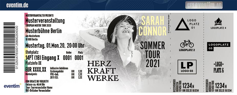 Sarah Connor - HERZ KRAFT WERKE - Sommertour 2021