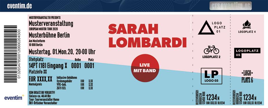 Sarah Lombardi - Live mit Band 2021