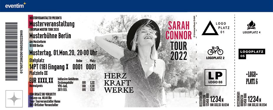 Sarah Connor - HERZ KRAFT WERKE - Tour 2022
