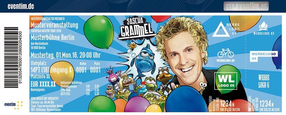 Sascha Grammel Karten für ihre Events 2017